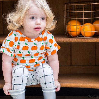 Appelsien lena shirt & leggings