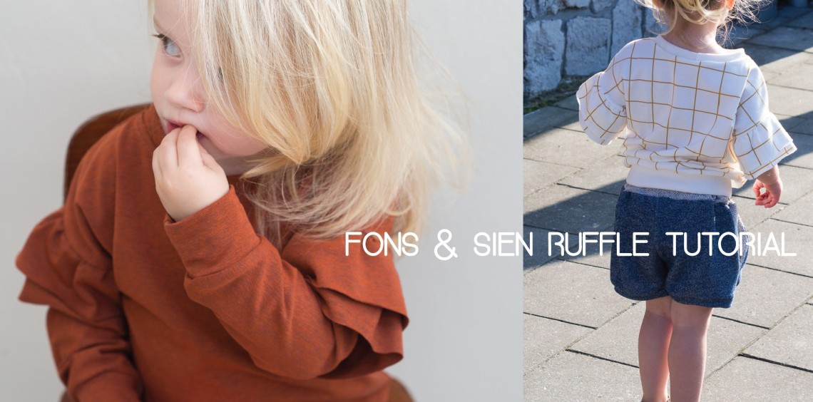 Fons & Sien ruffle tutorial