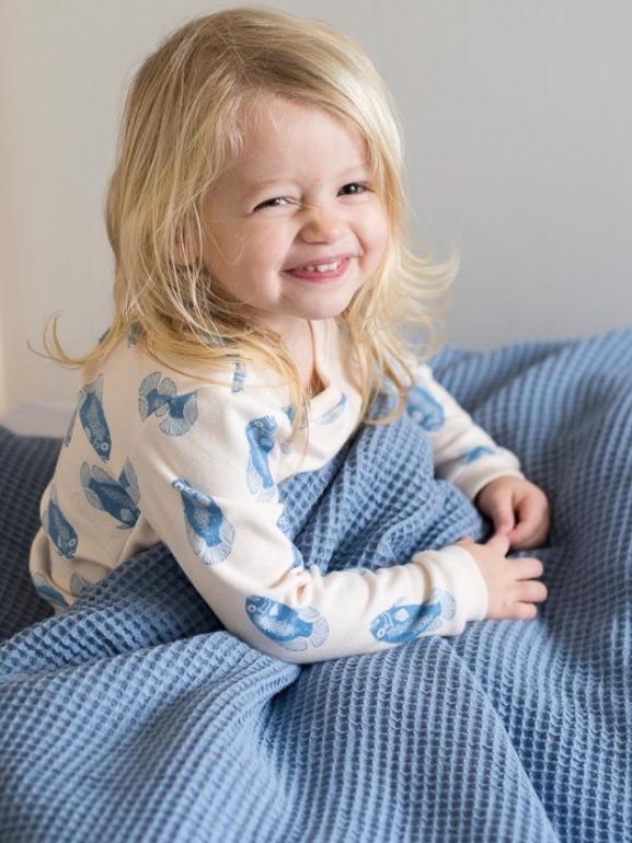 Blauw beddengoed - blue bedding