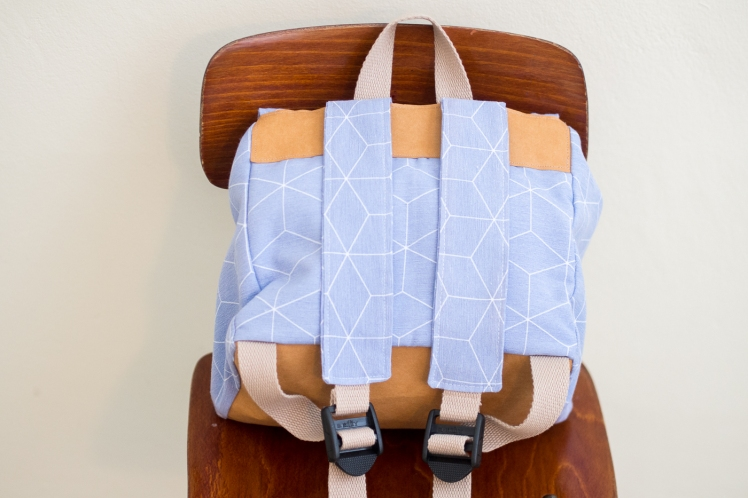 My first backpack free pattern blogtour