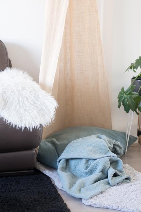 baby crib canopy & blanket