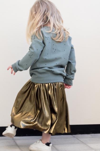 sweater skirt & leggings