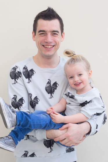 rooster twinning